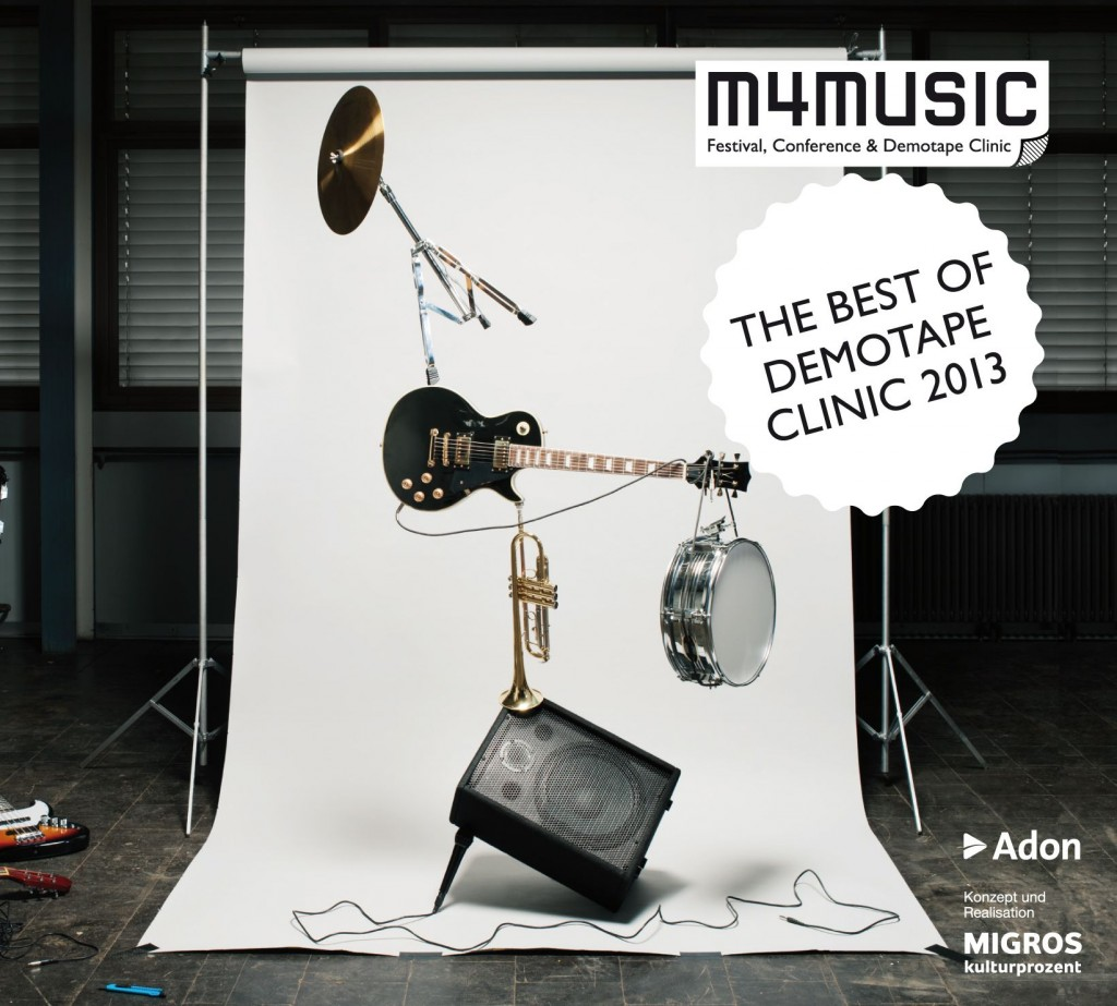Cover The Best of Demotape Clinic 2013 Cover