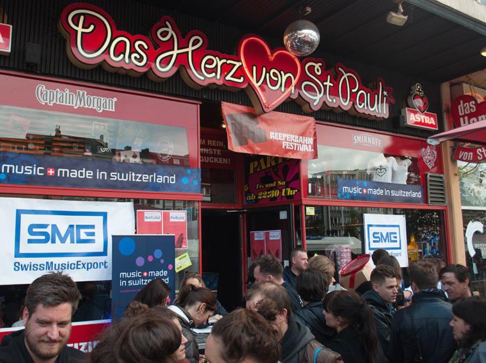 Reeperbahn 2013 Herz von St. Pauli