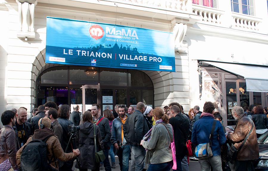 Mama 2013 Festivalzentrum Eingang