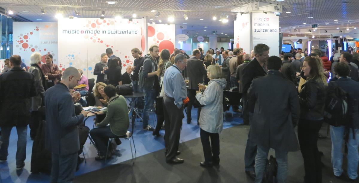 Midem 2014 Schweizer Gemeinschaftsstand
