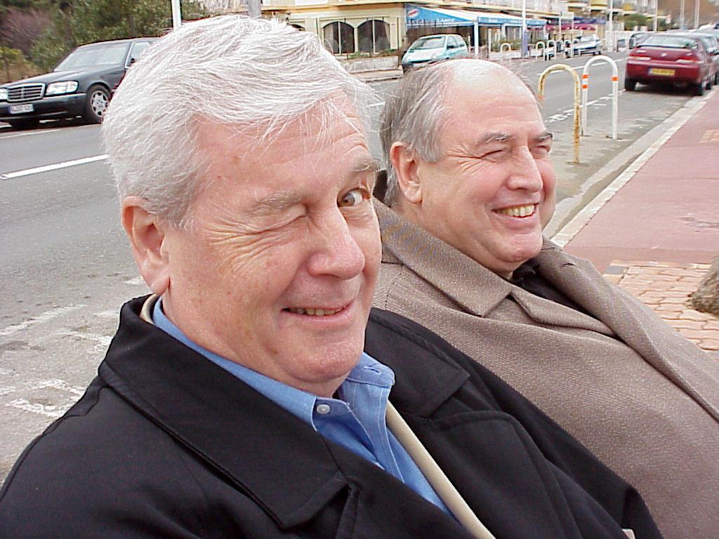 George Gruntz und Nico Cadsky