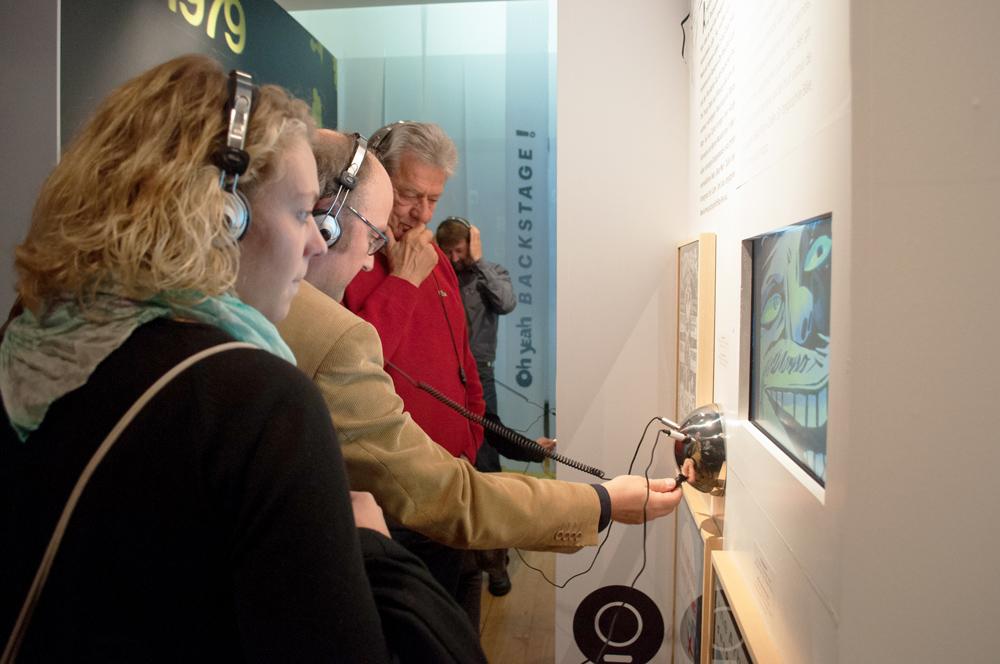 Ausstellung Oh Yeah Multimedia Installationen