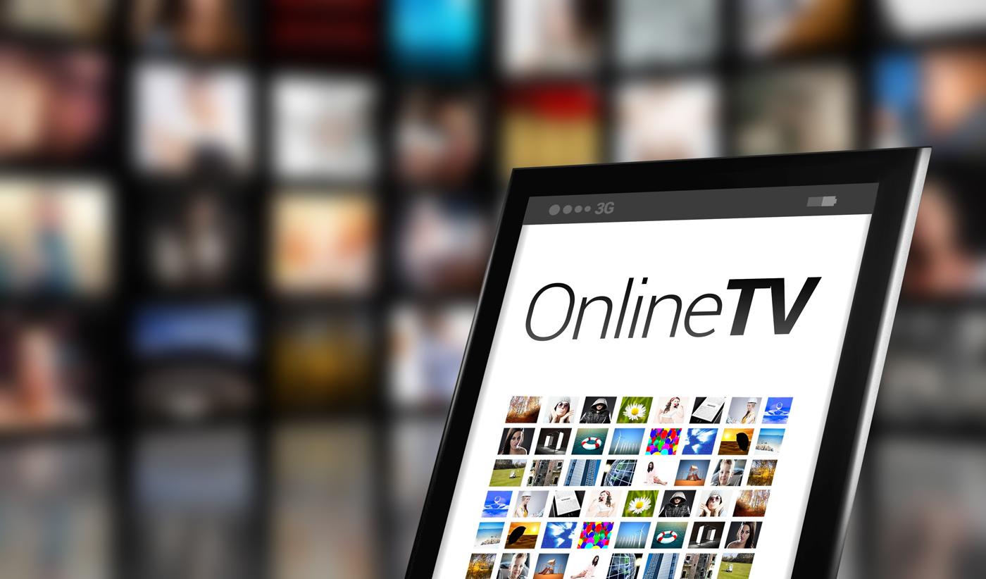 Online-TV-Screen