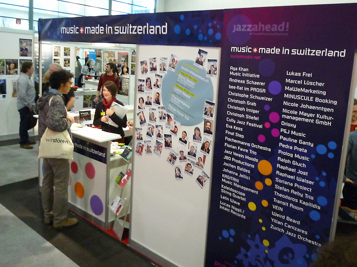 jazzahead2015-Schweizer-Stand
