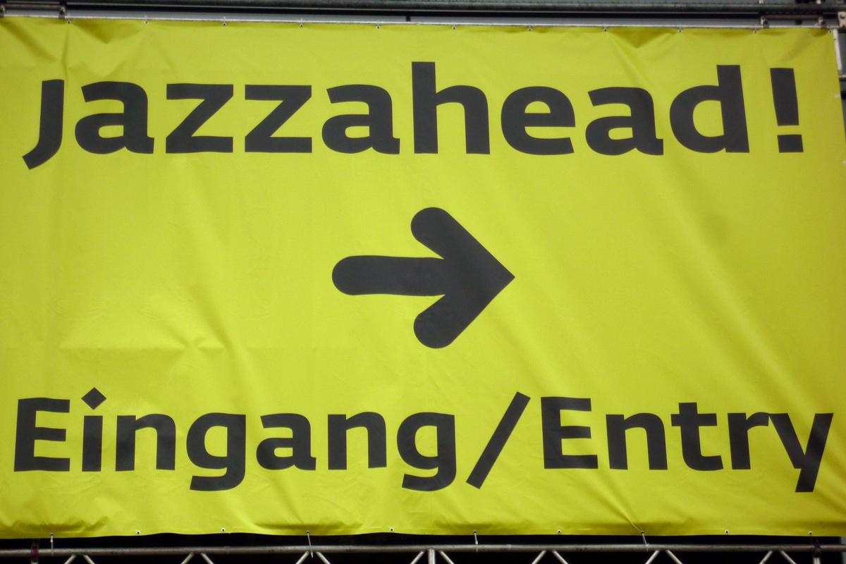 Jazzahead-Aushang-Eingang
