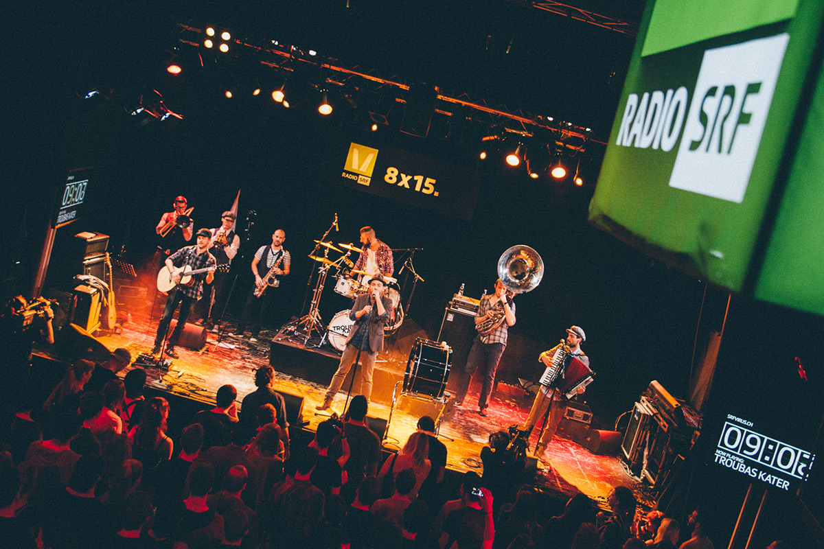 Auf den Spartensendern der SRG lebt die Schweizer Musik