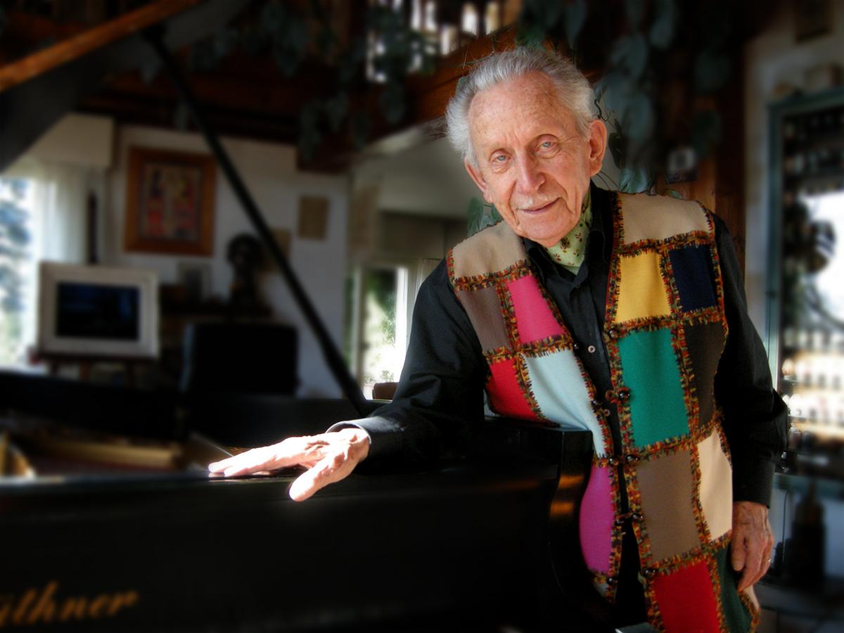 Julien-François Zbinden: 100 years' old!