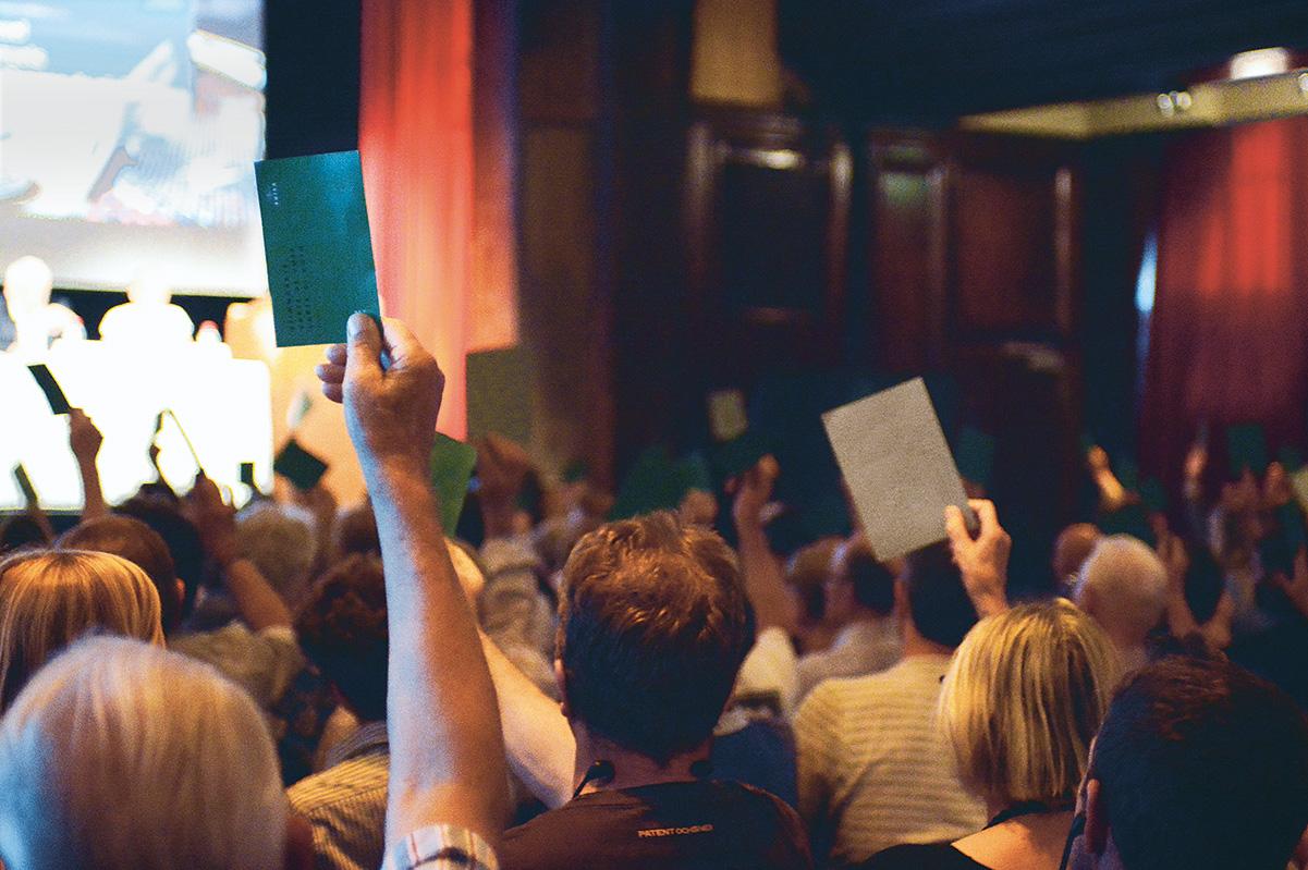 SUISA-Generalversammlung 2018: Ihre Meinung zählt!