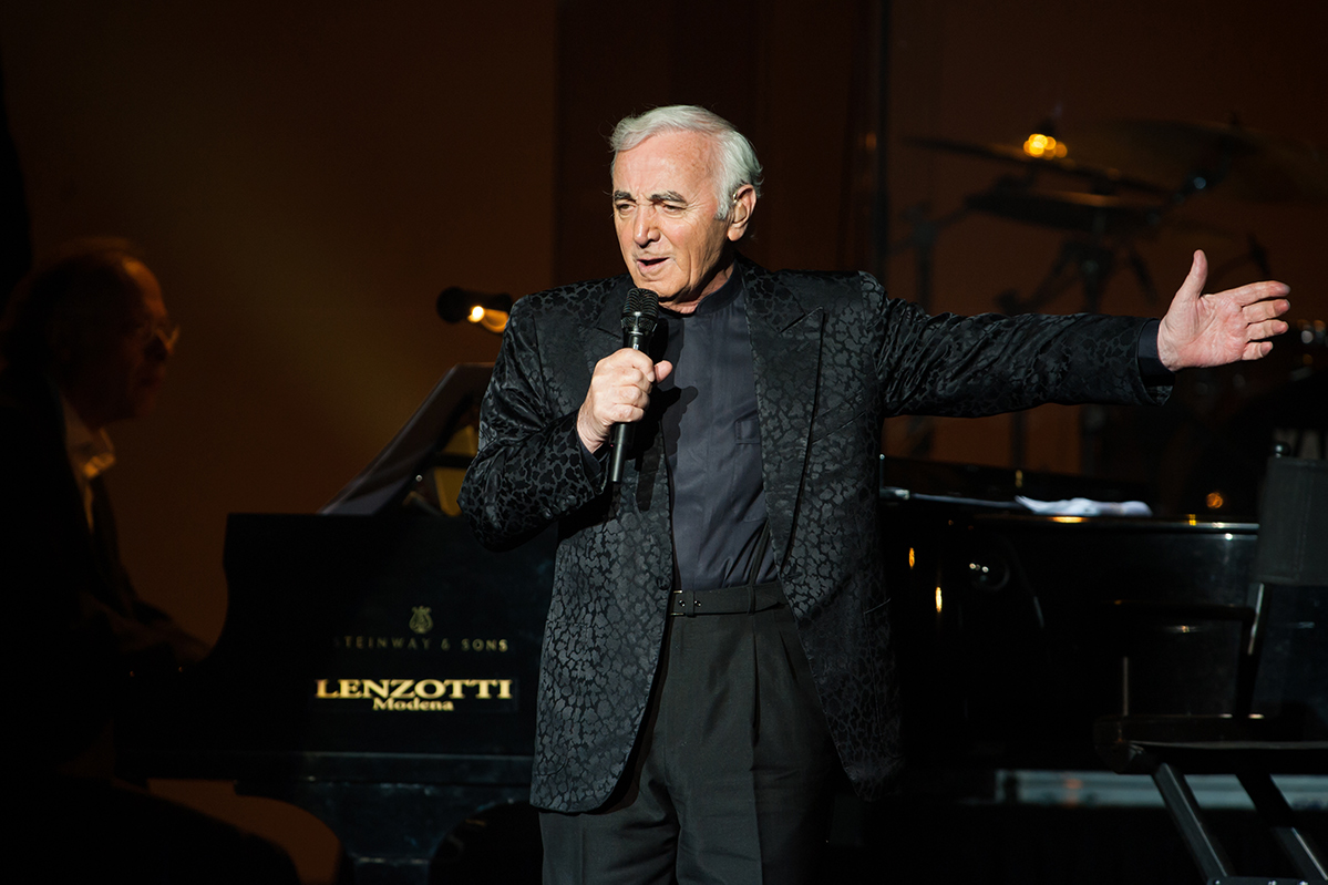 Charles Aznavour's songs are part of our collective identity