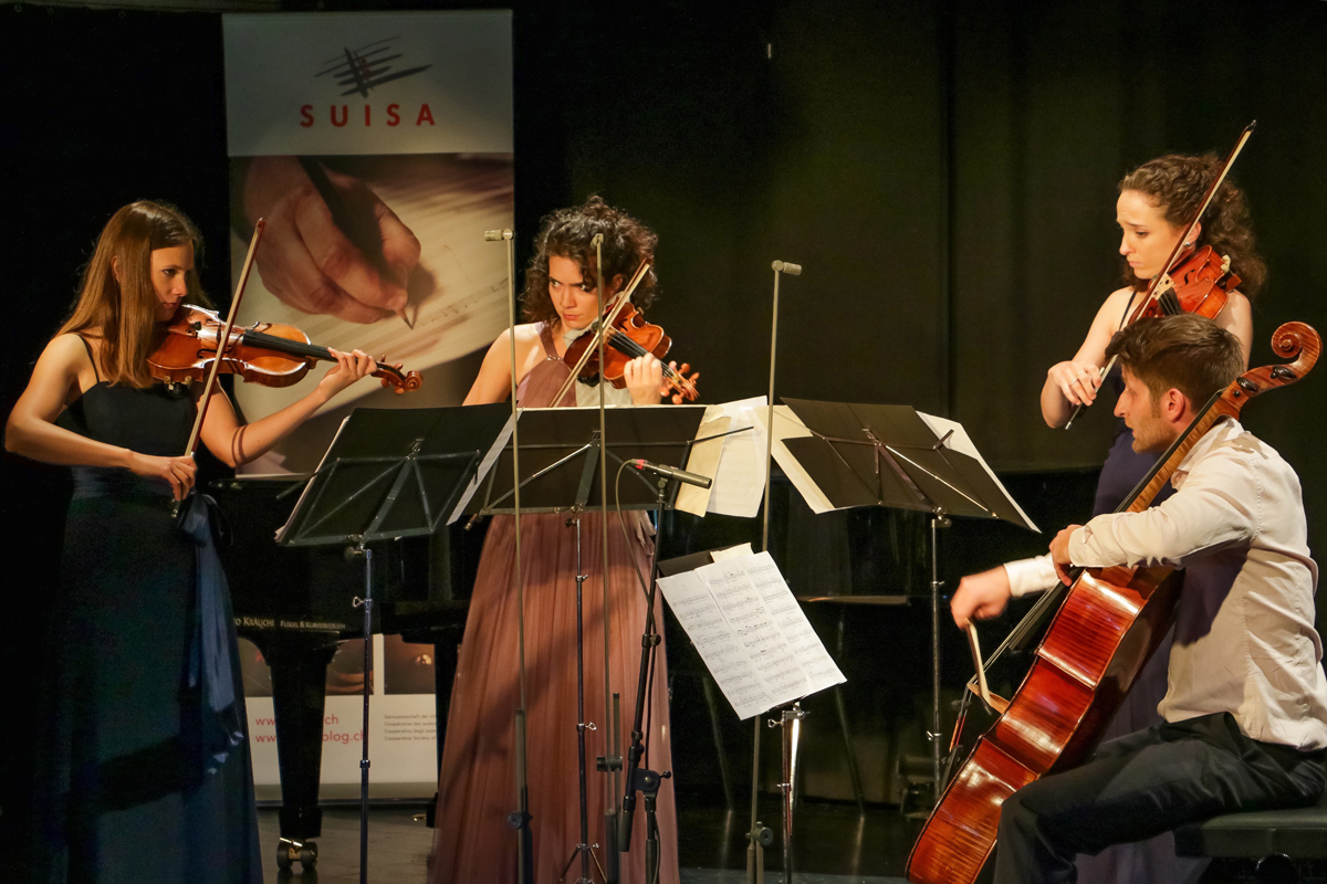 "Belenus Quartett: ""SUISA Day"" at the Murten Classics Festival proves a resounding success"