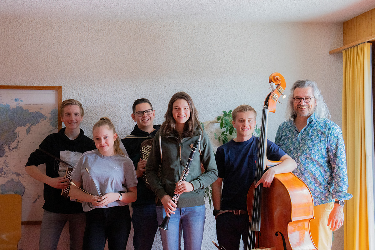 Participants of the composition weekend